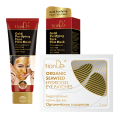 "Купeте Златна маска за лице - ПОДАРЪК: Хидрогелизирани очни пластири ""Органични водорасли"""