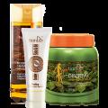 Купeте Подхранващ шампоан + Възстановяващ балсам с екстракт от жен-шен - ПОДАРЪК: Пилинг от кожа и мас на змия