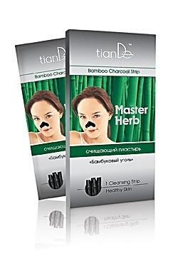 """Почистваща лепенка за нос Master Herb """"Бамбуков въглен""""  (1 бр.)"""