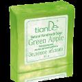 """Натурален сапун ръчна изработка """"Зелена ябълка"""", 85 гр."""