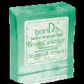 "Натурален сапун ръчна изработка ""Зелена краставица"", 85 гр."