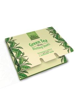Матиращи кърпички за лице със зелен чай, 100 бр