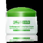 Крем за лице с кордицепс и зелен чай - SPF 9,2 , 50гр.