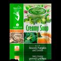 """Крем-супа с броколи, пъпеш и леща """"Active Life"""""""