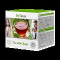 """Черен чай с гъба чага """"Dr. Taiga"""", (20 филтърни пакетчета по 2 г)"""
