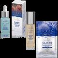 Купeте Хиалуронов серум за лице + Хидратираща основа за грим  - ПОДАРЪК: Маска за лице от морски таралеж и водорасли
